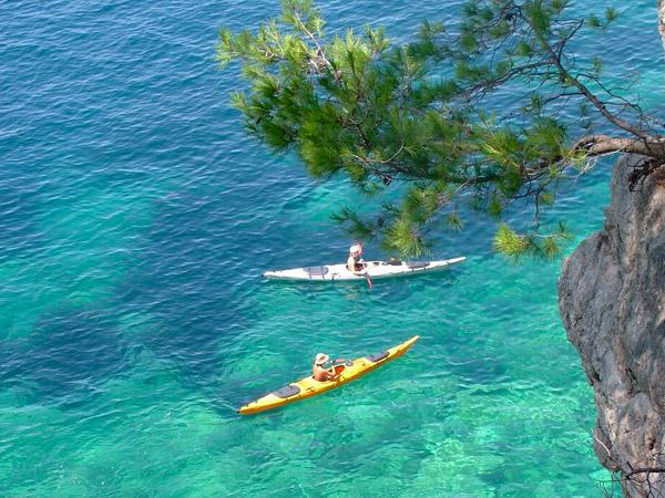 Croatia Dubrovnik sea kayaking